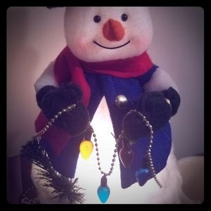 Light up snowman decoration